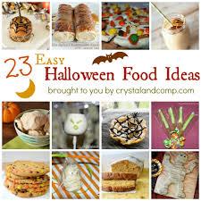 Ideas For Halloween Finger Foods by Easy Halloween Food Ideas