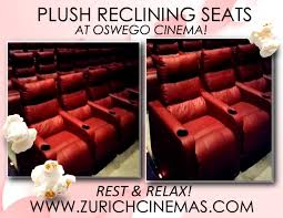 Movie Theatre With Reclining Chairs Nyc by Oswego Cinema 7 Featuring Plush Reclining Seats
