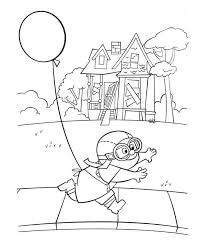 Up Coloring Pages Disney Movie Up Coloring Sheets