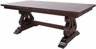 ncf jean kolonial esszimmer möbel in distressed walnuss kolonialstil table with leaf distressed walnut