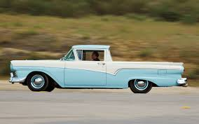 1957 Ford Ranchero Vs. 1959 Chevrolet El Camino Comparison - Truck Trend 1957 Ford Ranchero For Sale 2077490 Hemmings Motor News Stock Photos Images Alamy 1965 Falcon Pickup Truck Youtube Chevrolet El Camino And Whats In A Name 1978 Truck Sales Folder Lowered Custom 1950s Vintage Ford Ranchero Truck Structo Toy Land Garage Shop Spec 1962 Bring A Trailer 1968 500 Pick Up 336 Near Classic Trucks Advertising Pinterest Considers Compact Unibody Pickup The Us Conv Flickr