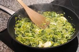 recettes de cuisine avec le vert du poireau recette fondue de poireaux aux épices