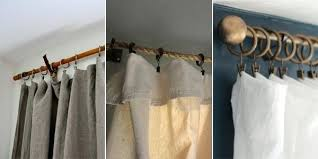Rustic Curtain Rods Wooden