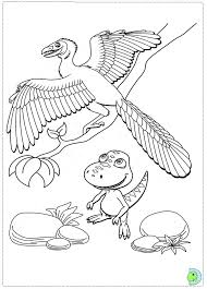 Dinosaur Train Coloring Pages Printable Image Free