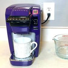 Purple K Cup Coffee Maker How To Clean Mini Steps Chefman Single Serve