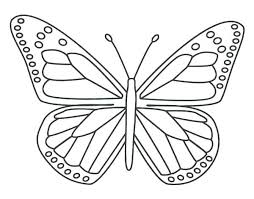 Monarch Butterfly Coloring Page Caterpillar