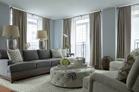 27 blue gray walls living room grey paint colors traditional