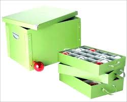 Iris Tree Storage Box Luxury Bins Holiday Red Christmas Boxes Plastic