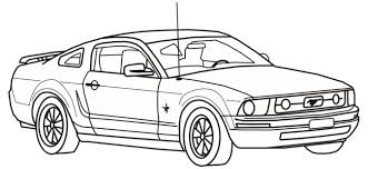 Free Printable Coloring Pages Mustang