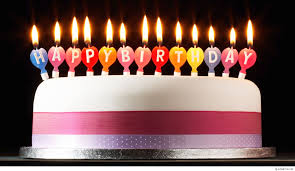 Birthday Cake With Candles 11 Amazing Happy Wallpapers Hd