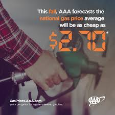 AAA Fall Gas Price Forecast AAA Western Central New York