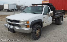 100 2000 Chevy Truck For Sale Chevrolet 3500 Dump Bed Pickup Truck Item DA8505 SO