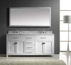 Narrow Depth Bathroom Vanity by Perfect White Bathroom Vanity And Storage Cabinet Ideas Hgnv Com