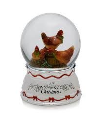 Dillards Christmas Decorations 2013 by Towle Silversmiths 12 Days Of Christmas Three French Hens Snow