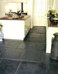 Slate Kitchen Tiles Floors Black Floor Com Pros And Cons Laying