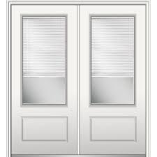 Sliding Door With Blinds by 72 X 80 1 Panel Sliding Doors Interior U0026 Closet Doors The
