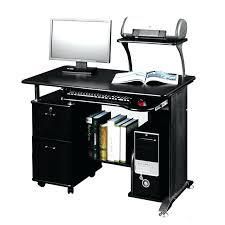 Techni Mobili Computer Desk With Side Cabinet by Miraculous Techni Mobili Computer Desk For Home Design Space Saver