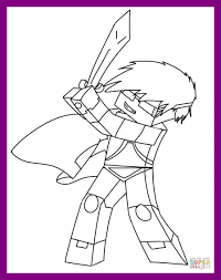 Astonishing Co Minecraft Coloring Pages Skydoesminecraft Pic For Mermaid Styles And Trend