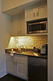 Microwave Shelf This Coffee Bar Kitchenette Sits In A Master Bedroom For Early Morning Making