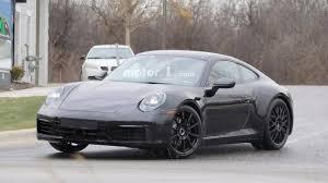 Next Gen Porsche 911 Interior Spy s