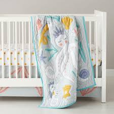Little Mermaid Crib Bedding by Baby Bedding Marine Life Octopus Crib Bedding The Land Of Nod