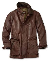Lambskin Leather Barn Coat Telluride Barn Coat Orvis