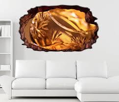 3d wandtattoo weinbrand glas gold wein abstrakt selbstklebend wandbild wohnzimmer wand aufkleber 11l289 wandtattoos und leinwandbilder