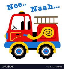 100 Fire Truck Red A Red Fire Truck Cartoon