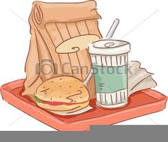 School Lunch Tray Clipart Image