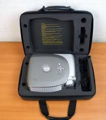 dell 2400mp dlp front projector with case remote deals