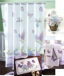 Walmart Bathroom Curtains Sets by Shower Curtain And Rug Set Walmart Elegant Modern Bathroom Shower