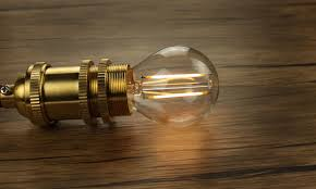 edison style led bulb for vintage light fixtures