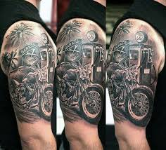 70 Biker Tattoos For Men