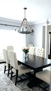 French Dining Room Furniture Chairs Incredible Dark Wood Table With Gray