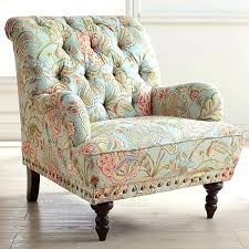 Blue Patterned Chair – Rushcourier