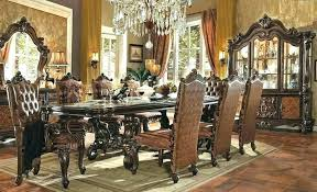 Victorian Style Living Room Set Dining Table Sets