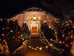 Christmas Lights In Los Angeles Balian House