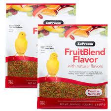 Amazoncom Zupreem 230300 Fruitblend XSmall CanaryFinch Food 2
