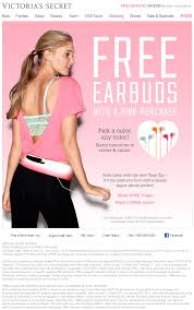 $15 Earbuds Free With Any Pink Purchase At Victorias Secret ... Deals During Bath Body Works Semiannual Sale Victorias Secret Coupons Shopping Promo Codes Free Coupon Codes For Victorias Secret Pink Victoria Secret Coupon Code For Free Shipping On 50 Victora Black Friday Kmart Deals The Sexiest Bras Panties Lingerie Hot Only 40 Regular 100 Pink Fleece Android Apk Download Up To Off Coupon Code 20 Free Panty 10 Off At Krazy Shop Clearance