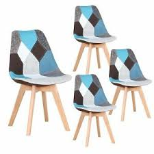 4er set esszimmerstühle wohnzimmerstuhl büro gepolsterter