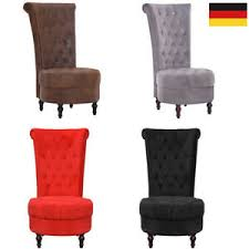 details zu hochlehner sessel polstersessel relaxsessel wohnzimmer lehnstuhl sofa design
