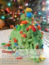 How To Make Rice Krispies Treats Christmas Trees