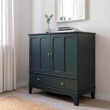 lommarp cabinet blue green ikea glasschranktüren