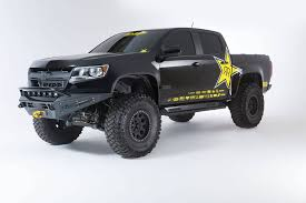 100 Truck Accessories Colorado Springs 2015 Up Chevy GMC Canyon HoneyBadger Winch Front Bumper
