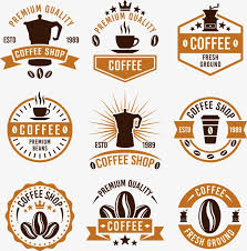 Variety Of Coffee Icon Beans PNG And Vector