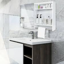 badezimmerschrank hängend weiß hochglanz