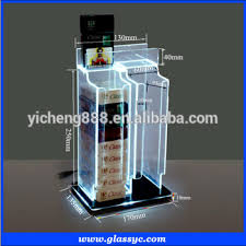 China Wholesale Creative Design OEM Fashionable Cigarette Display Stand Neoprene Holder With LED