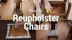 How To Reupholster Chairs Yourself - YouTube Armchair How Much Does It Cost To Reupholster Chair Uplsterhow Chairs Acceptable Upholstered Wingback For Your Ding A Room To Reupholster A Chair Craft An Arm Hgtv Reupholstering French Part 5 Upholstering The How To Reupholster The Arm And Back Of Chair Alo Upholstery Diy Armchairs In Red And Chevron Modest Maven Vintage Blossom Alo Youtube An