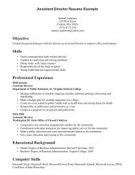 Example Of Resumes Resume Examples Skills And Resume Objective