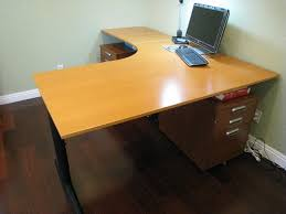 Awesome L Shaped puter Desk Ikea 63 About Remodel Home With